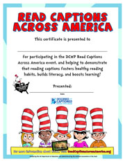 picture relating to Read Across America Printable called RCAA Content and Media